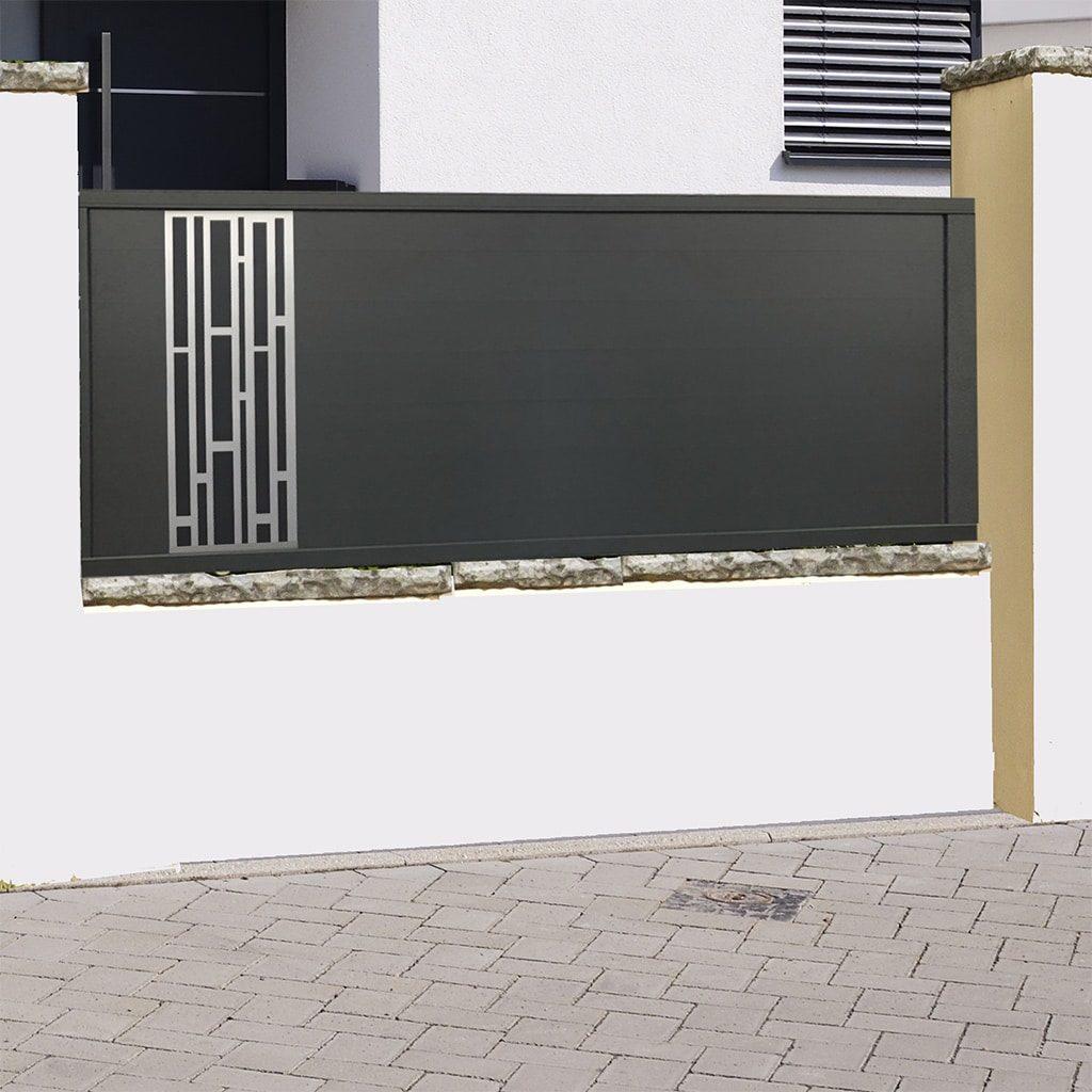Cloture alu gamme Italia design modèle Bari
