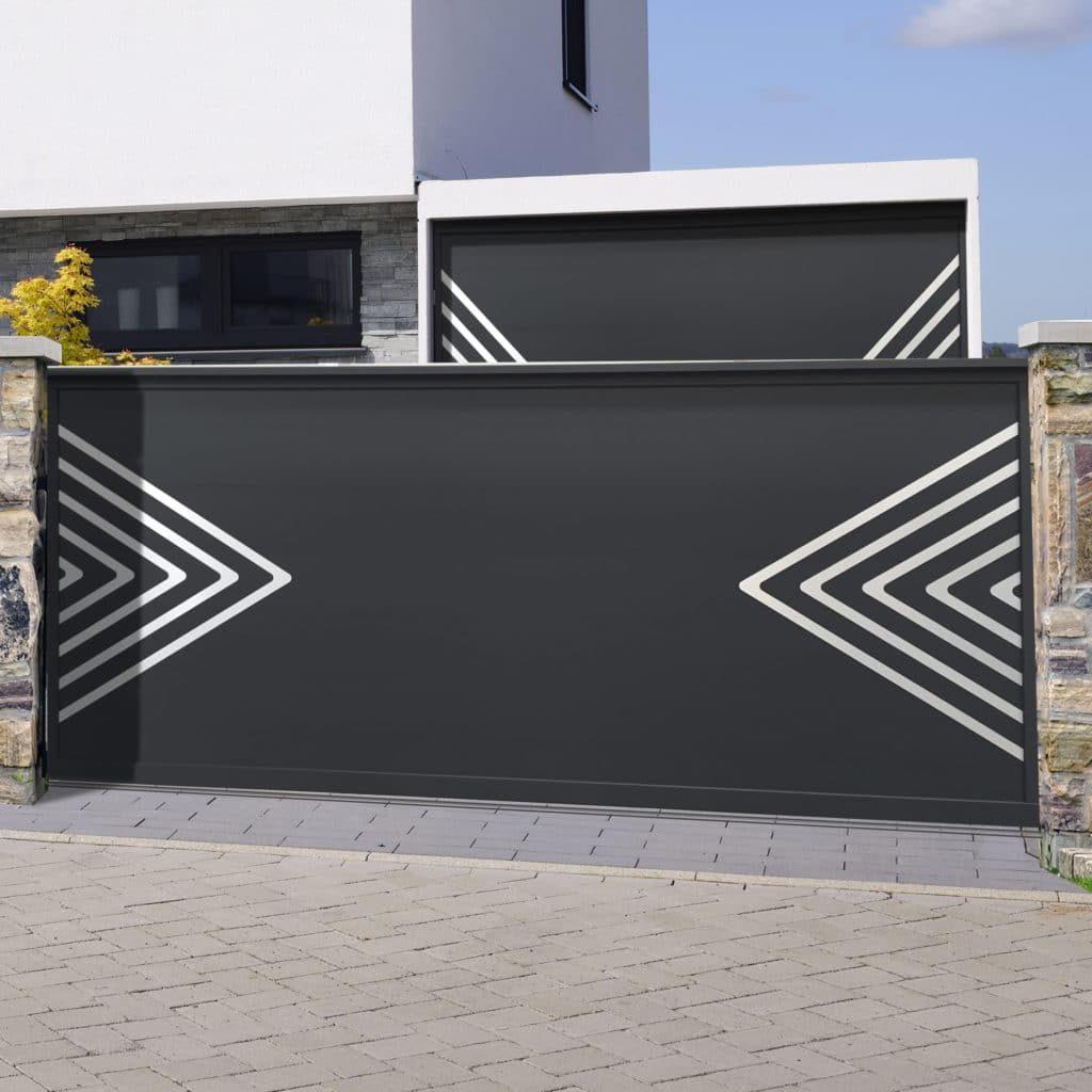 portail coulissant gamme Tendance modèle Ibiza