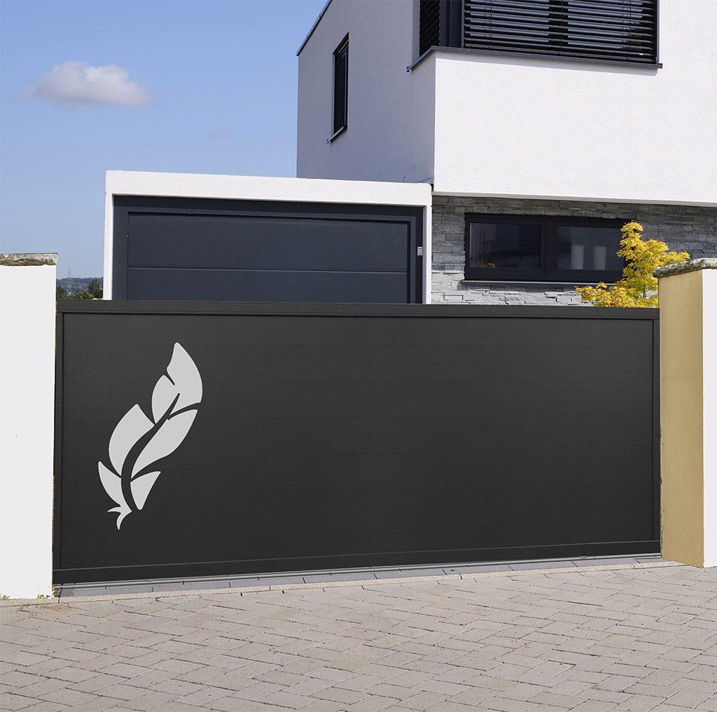 portail coulissant aluminium florence