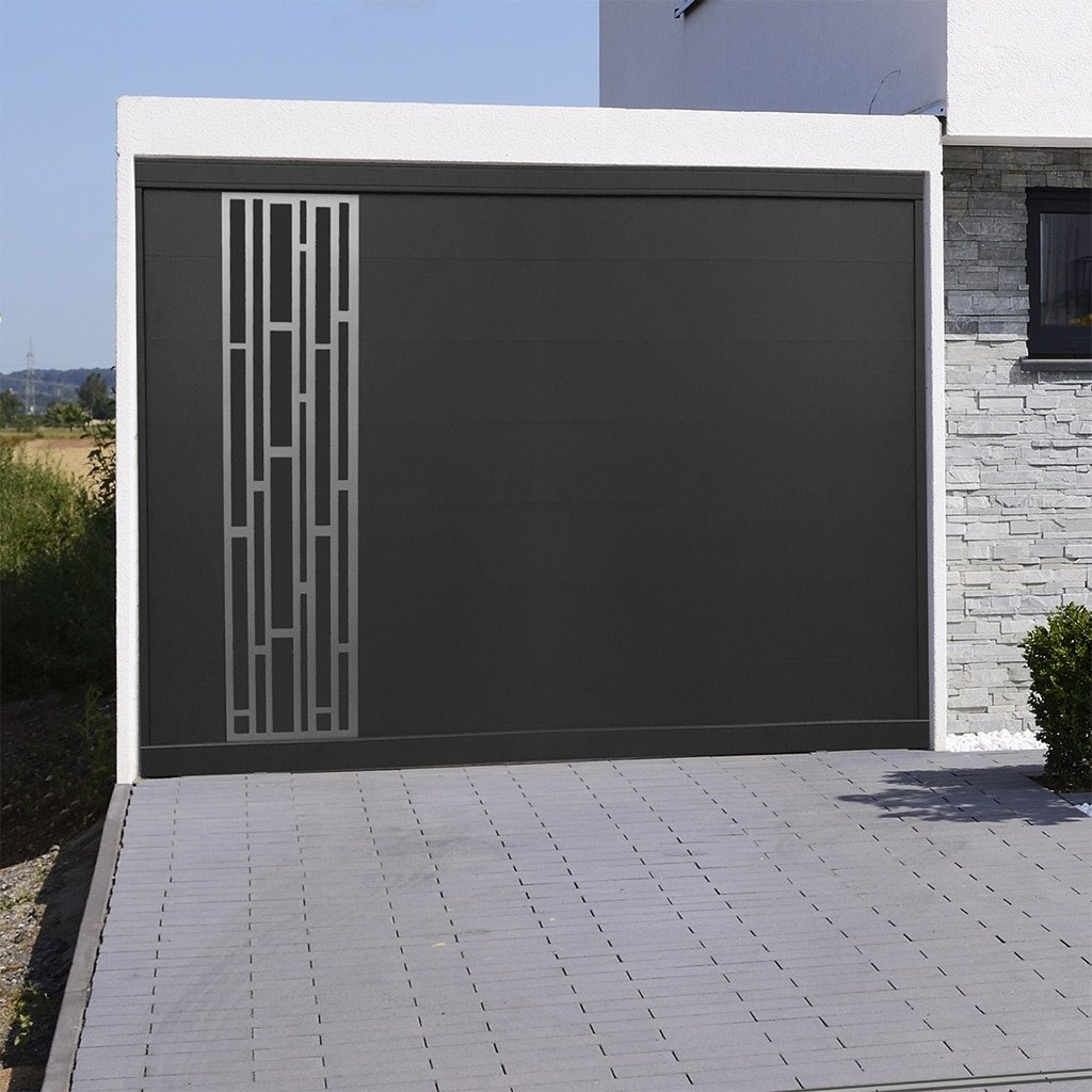 Porte de garage aluminium Bari