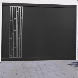 Porte de garage alu Bari