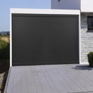 Porte de garage aluminium Naples
