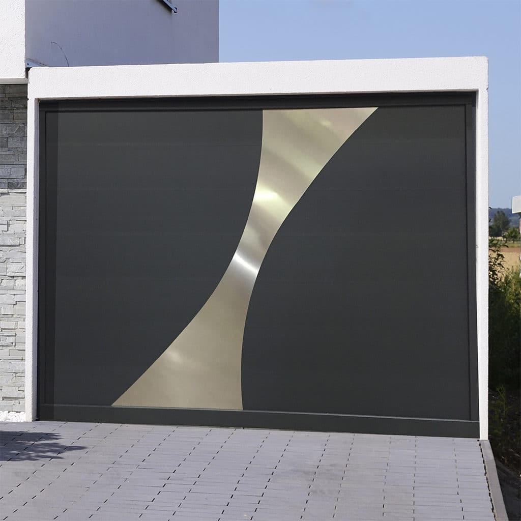Porte de garage sectionnelle isolée Corfou