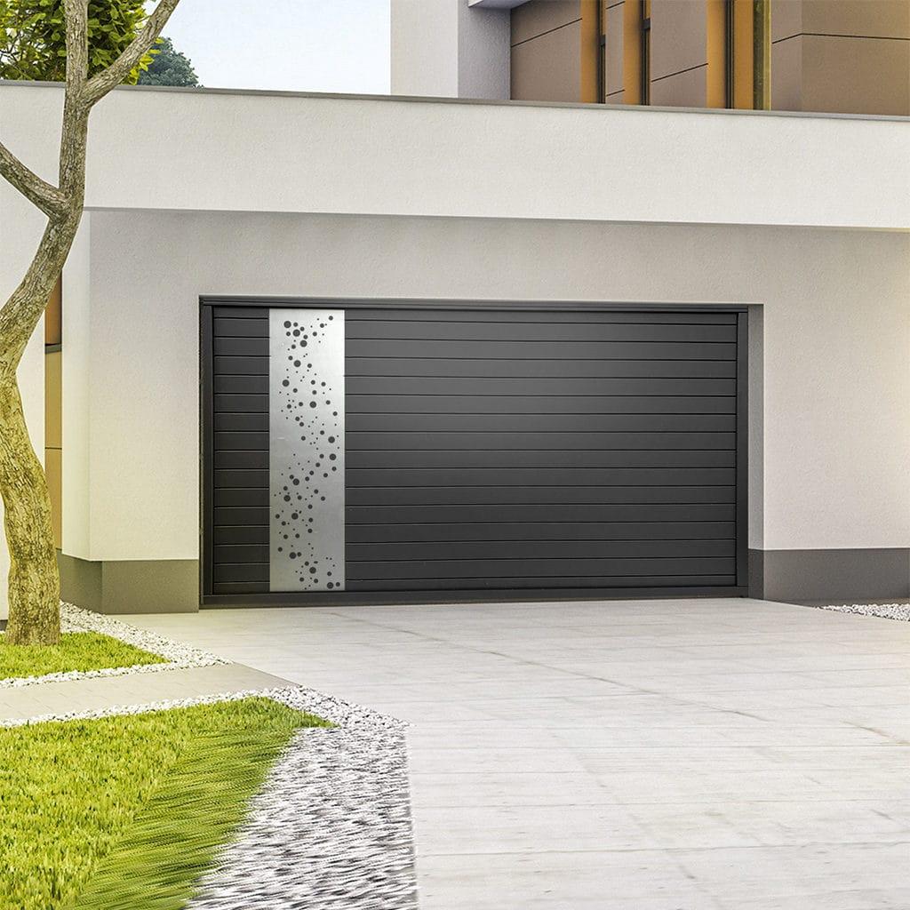 Porte de garage alu sectionnelle isolée Oxygen