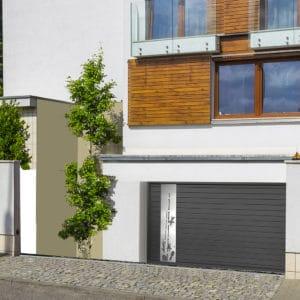 Porte de garage alu Zen