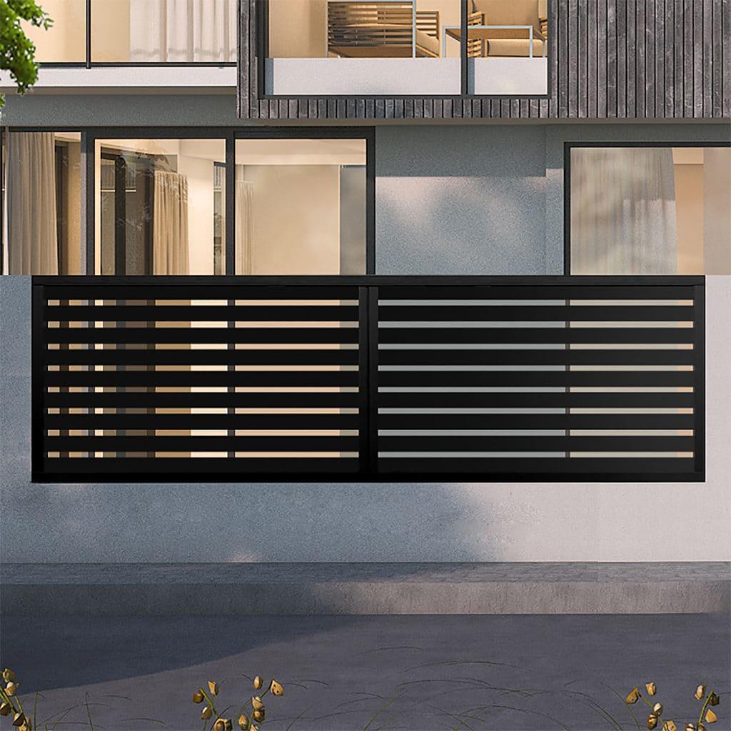 clôture alu modèle Louvain