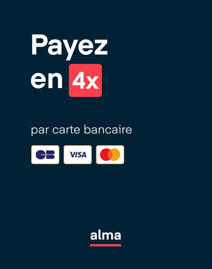 payez en 4 fois par CB