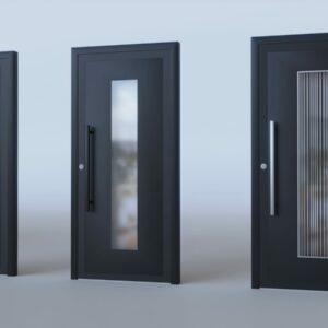Porte d'entrée aluminium modèle Martigny