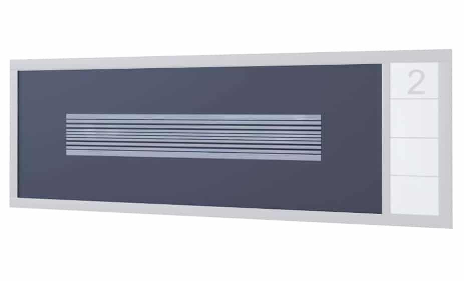 Panneau portail aluminium