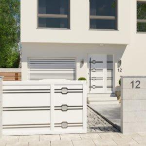 Portail coulissant aluminium modèle Munich
