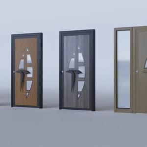 porte d'entrée alu modèle Genève