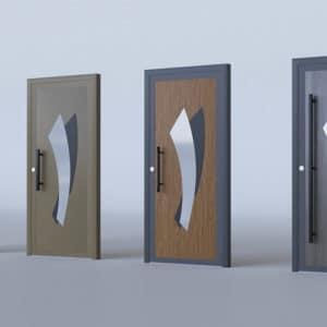 porte d'entrée alu modèle Salzbourg