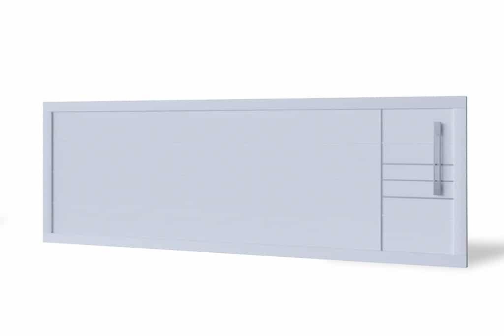 Portail coulissant aluminium modèle Gavle