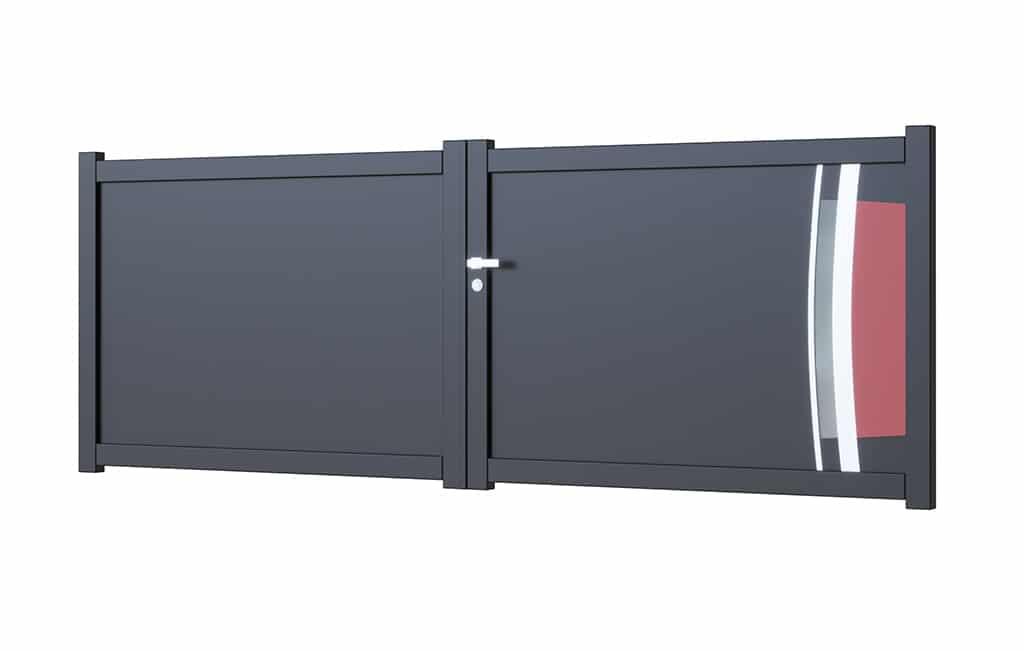 Portail-battant-aluminium modèle Cordoba