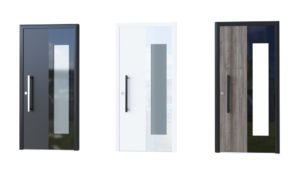 Porte aluminium modèle Glass 6