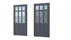 Porte aluminium modèle Indus 2