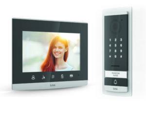 """Visiophone Extel 7"""" glass finish * avec clavier à code intégré"""