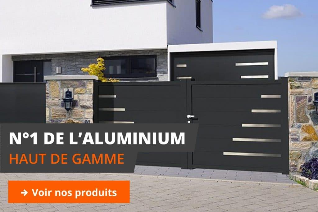 produits aluminium haut de gamme