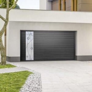 Porte de garage aluminium modèle Thalassa